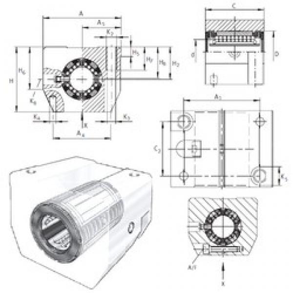 INA KGSNS50-PP-AS linear bearings #3 image