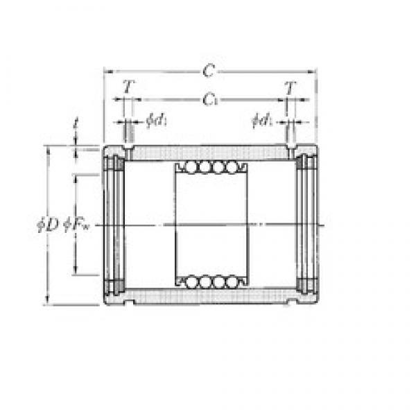 NTN KD203245LL linear bearings #3 image