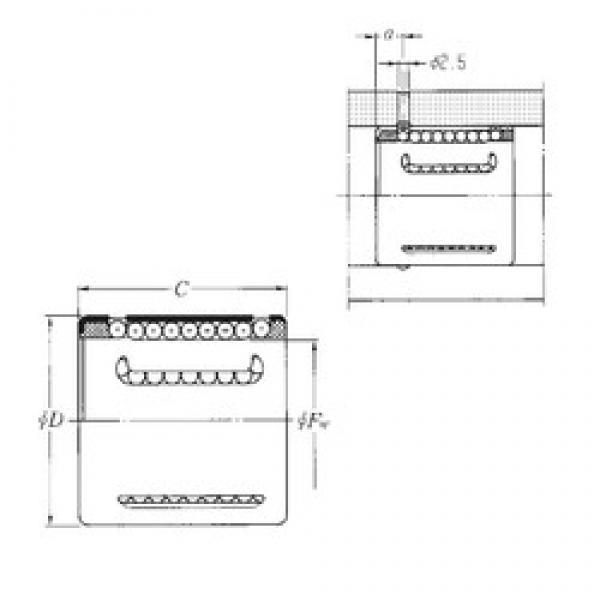 NTN KH1428 linear bearings #3 image