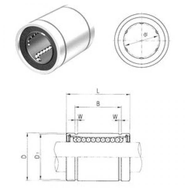 40 mm x 60 mm x 60,5 mm  Samick LM40 linear bearings #3 image