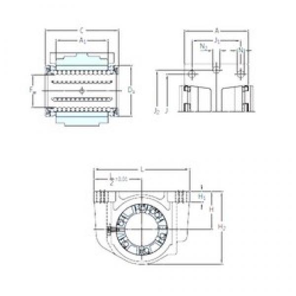 SKF LUCD 20 linear bearings #3 image