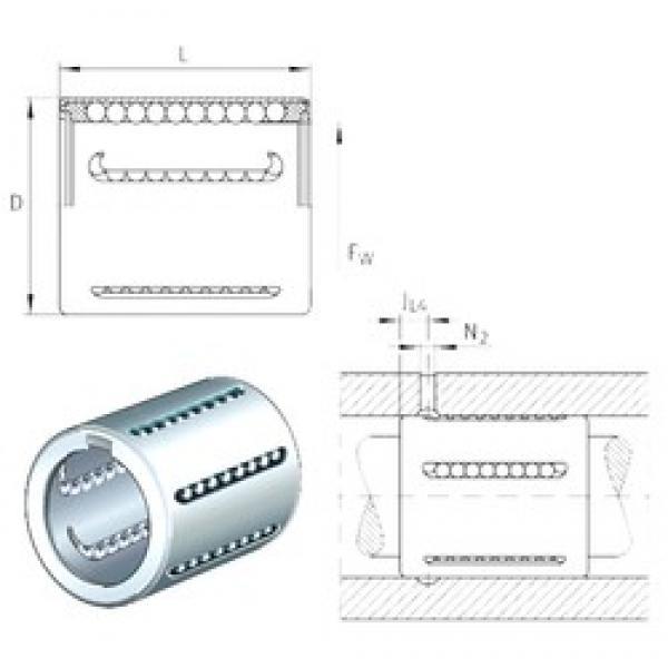 INA KH25 linear bearings #3 image