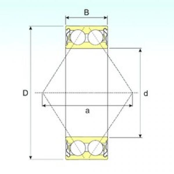 50 mm x 110 mm x 44,4 mm  CYSD 5310ZZ angular contact ball bearings #3 image