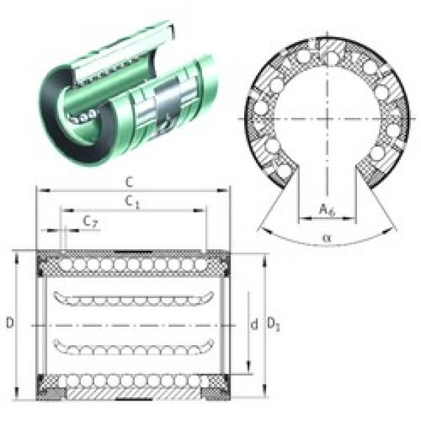 INA KNO 20 B-PP linear bearings #3 image