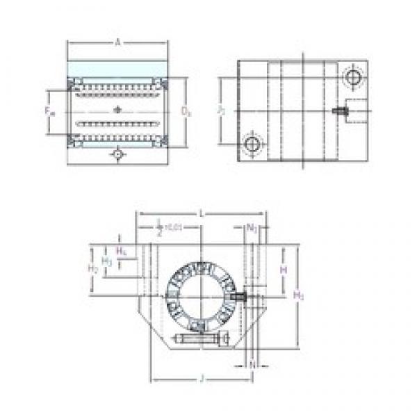 SKF LUNE 12-2LS linear bearings #3 image
