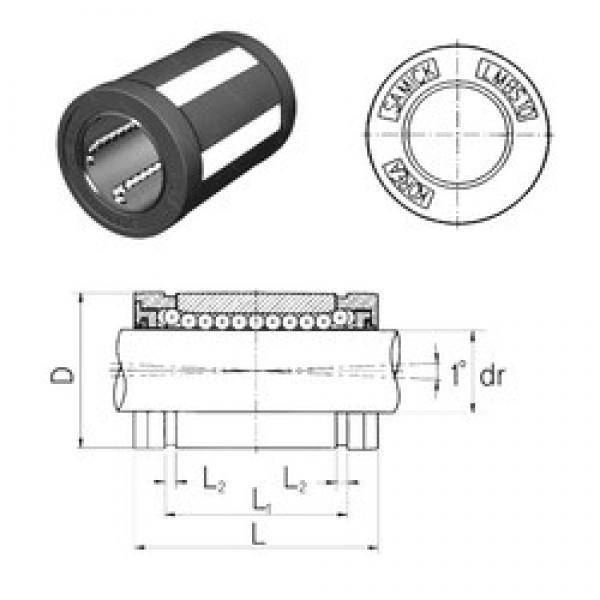 Samick LMBS12UU linear bearings #3 image