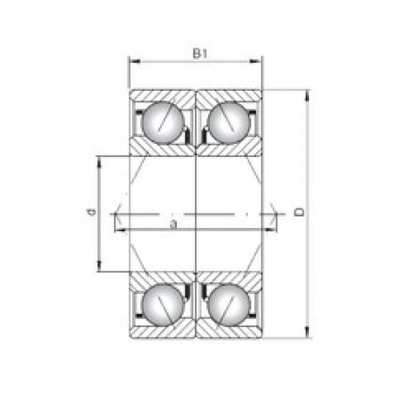 ISO 7314 BDB angular contact ball bearings #3 image