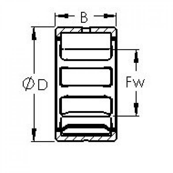 AST NK26/20 needle roller bearings #3 image