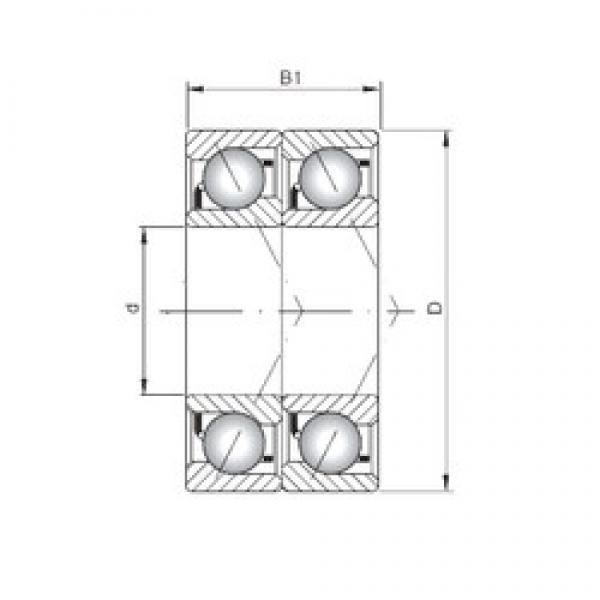 ISO 7015 BDT angular contact ball bearings #1 image
