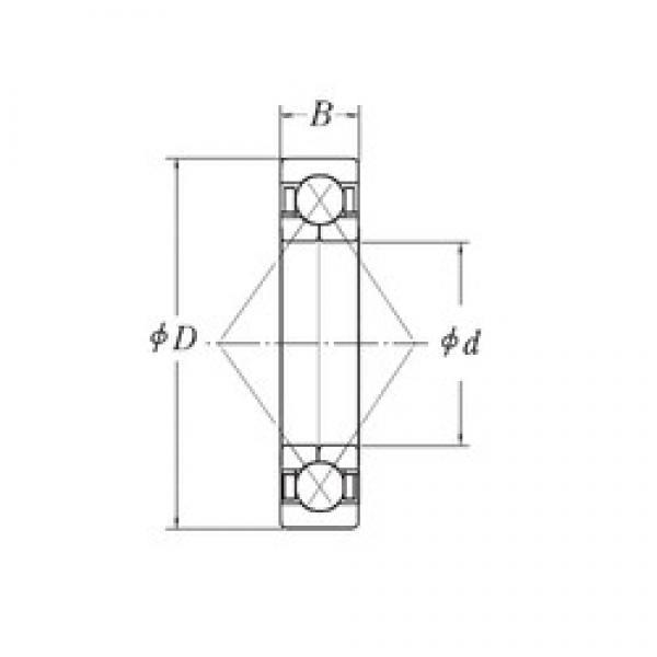 90 mm x 160 mm x 30 mm  CYSD QJ218 angular contact ball bearings #3 image